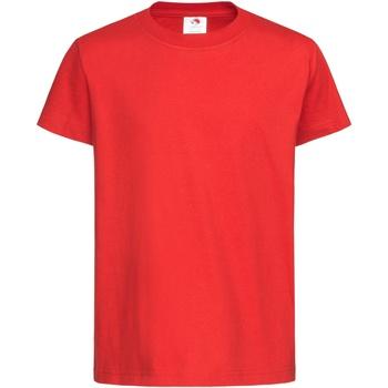 Textiel Kinderen T-shirts korte mouwen Stedman  Scharlakenrood