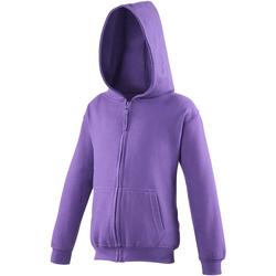 Textiel Kinderen Sweaters / Sweatshirts Awdis JH50J Paars