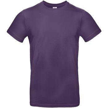 Textiel Heren T-shirts korte mouwen B And C TU03T Stedelijk Paars