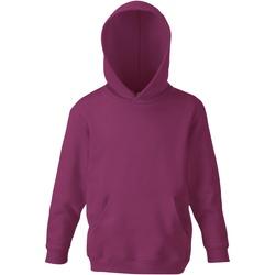 Textiel Kinderen Sweaters / Sweatshirts Fruit Of The Loom SS273 Bordeaux