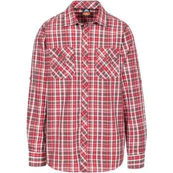 Textiel Heren Overhemden lange mouwen Trespass  Roodkapje