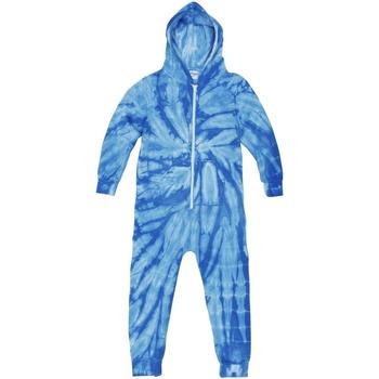 Textiel Kinderen Pyjama's / nachthemden Colortone Die Tye Spider Royal