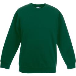 Textiel Kinderen Sweaters / Sweatshirts Fruit Of The Loom SS801 Bottle Groen