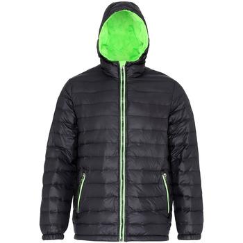 Textiel Heren Dons gevoerde jassen 2786 TS016 Zwart/Kalk
