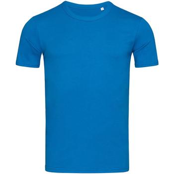 Textiel Heren T-shirts korte mouwen Stedman Stars Morgan Blauw