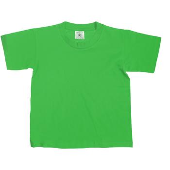 Textiel Kinderen T-shirts korte mouwen B And C TK300 Kelly Groen