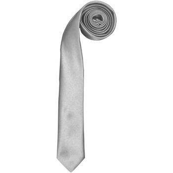 Textiel Heren Stropdassen en accessoires Premier PR793 Zilver