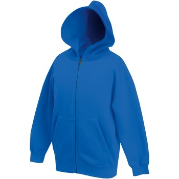 Textiel Kinderen Sweaters / Sweatshirts Fruit Of The Loom SS825 Royaal Blauw
