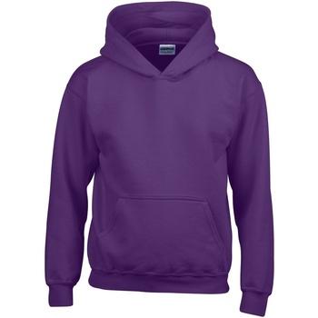 Textiel Kinderen Sweaters / Sweatshirts Gildan 18500B Paars