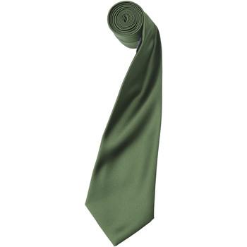 Textiel Heren Stropdassen en accessoires Premier Satin Olijf