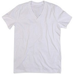 Textiel Heren T-shirts korte mouwen Stedman Stars  Wit