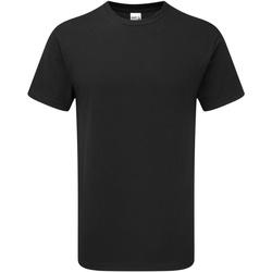 Textiel Heren T-shirts korte mouwen Gildan H000 Zwart