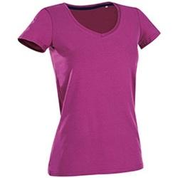 Textiel Dames T-shirts korte mouwen Stedman Stars Claire Cupcake Roze
