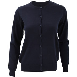 Textiel Dames Vesten / Cardigans Kustom Kit KK355 Marineblauw