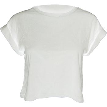 Textiel Dames T-shirts korte mouwen Mantis M96 Wit