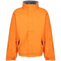 Textiel Heren Jacks / Blazers Regatta  Oranje met Grijs