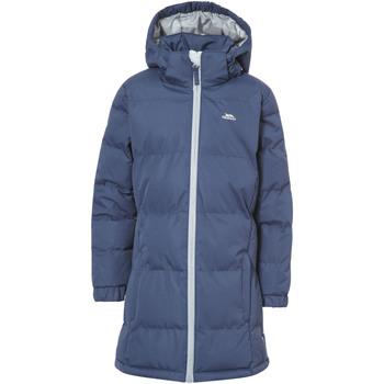 Textiel Meisjes Dons gevoerde jassen Trespass Tiffy Donkerblauw