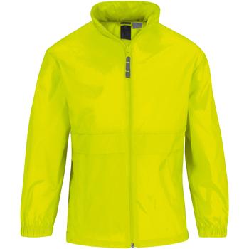Textiel Kinderen Wind jackets B And C Sirocco Fel Geel