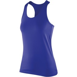 Textiel Dames Mouwloze tops Spiro S281F Saffier