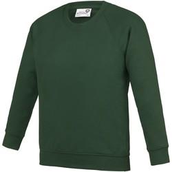 Textiel Kinderen Sweaters / Sweatshirts Awdis  Smaragd