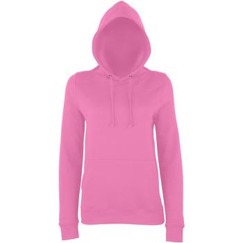 Textiel Dames Sweaters / Sweatshirts Awdis Girlie Suikerspin Roze