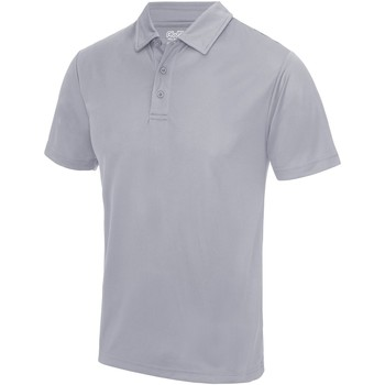 Textiel Heren Polo's korte mouwen Awdis JC040 Heide Grijs