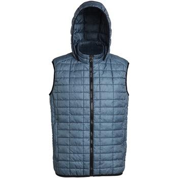 Textiel Heren Vesten / Cardigans 2786 Honeycomb Staal