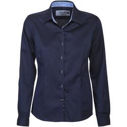 Textiel Dames Overhemden J Harvest & Frost JF006 Marine / Hemelsblauw