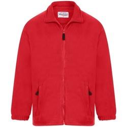 Textiel Heren Fleece Absolute Apparel  Rood