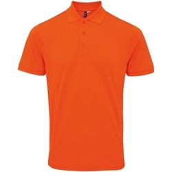 Textiel Heren Polo's korte mouwen Premier PR630 Oranje