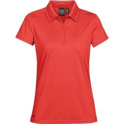 Textiel Dames Polo's korte mouwen Stormtech PG-1W Helder rood