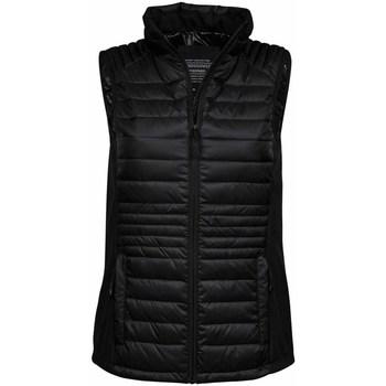 Textiel Heren Vesten / Cardigans Tee Jays TJ9625 Jet Zwart/Zwart