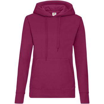 Textiel Dames Sweaters / Sweatshirts Fruit Of The Loom 62038 Bordeaux