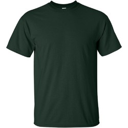 Textiel Heren T-shirts korte mouwen Gildan Ultra Bosgroen