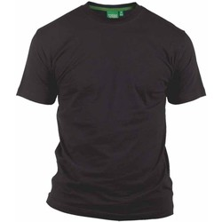 Textiel Heren T-shirts korte mouwen Duke  Zwart