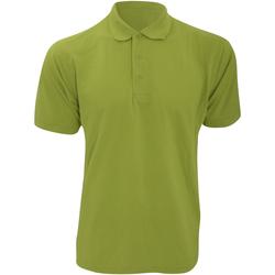 Textiel Heren Polo's korte mouwen Kustom Kit KK403 Appelgroen
