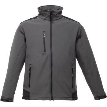 Textiel Heren Wind jackets Regatta TRA651 Afdichting Grijs/Zwart