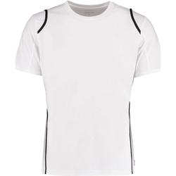 Textiel Heren T-shirts korte mouwen Gamegear Cooltex Wit/zwart