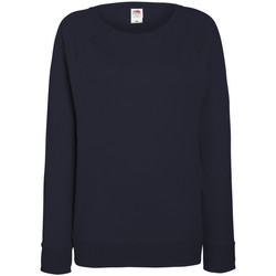 Textiel Dames Sweaters / Sweatshirts Fruit Of The Loom 62146 Donker Marine