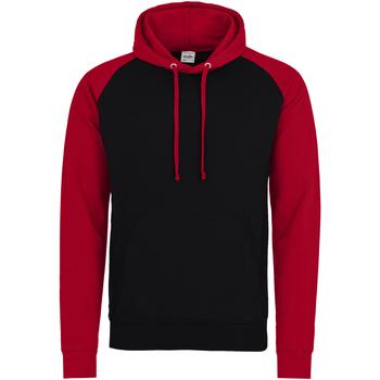 Textiel Heren Sweaters / Sweatshirts Awdis JH009 Straalzwart / vuurrood