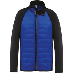 Textiel Heren Trainings jassen Kariban Proact PA233 Donker koninklijk/zwart