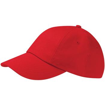 Accessoires Pet Beechfield Drill Cap Klassiek rood