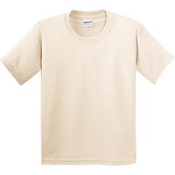 Textiel Kinderen T-shirts korte mouwen Gildan 5000B Natuurlijk