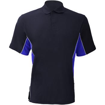Textiel Heren Polo's korte mouwen Gamegear KK475 Marine / Loyaal / Wit