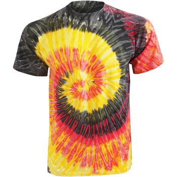 Textiel Dames T-shirts korte mouwen Colortone Rainbow Kingston