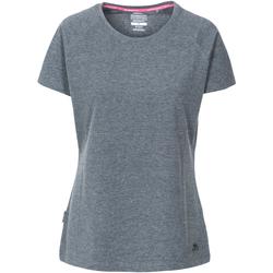 Textiel Dames T-shirts korte mouwen Trespass Beinta Grijs