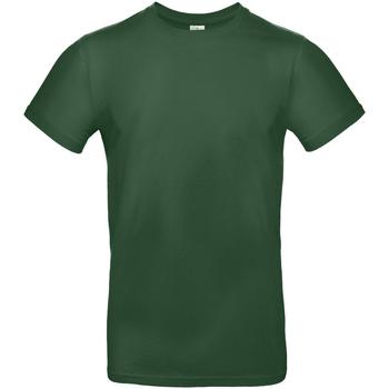 Textiel Heren T-shirts korte mouwen B And C TU03T Fles groen