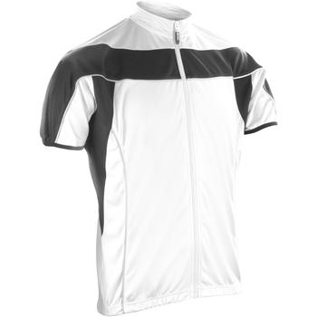 Textiel Heren Fleece Spiro S188M Wit / Zwart