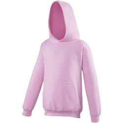 Textiel Kinderen Sweaters / Sweatshirts Awdis JH01J Baby Roze
