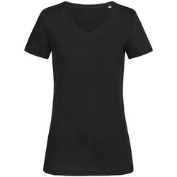 Textiel Dames T-shirts korte mouwen Stedman Stars  Zwart